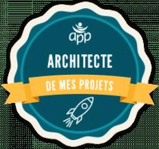 badge numérique architecte