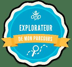 badge numérique explorateur